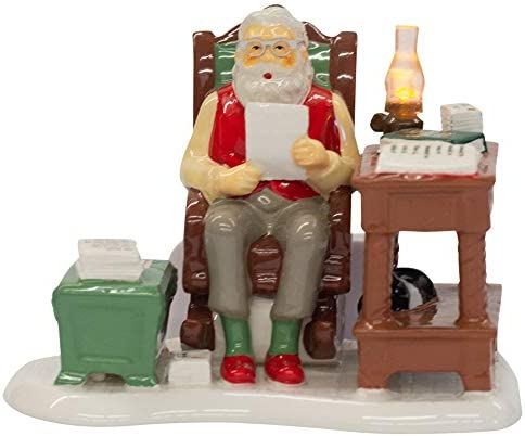 Department56 Department 56 Original Snow Santa Comes to Town 2018 Village Figures