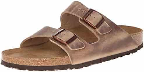 Birkenstock Women's Arizona Oiled Leather Habana Sandals (N)