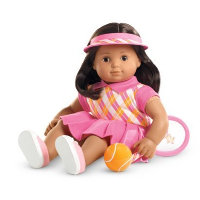 "American Girl Bitty Twins Tennis Pro Outfit for 15"" Dolls (Doll Not Included)"