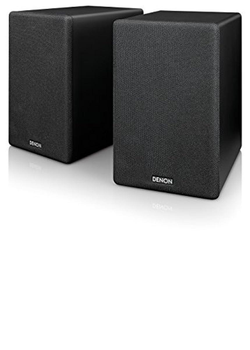 [해외] 데 노 DENON SC-N10 북 실프 스피커 2웨이 시스템 블랙 SC-N10-BKEM