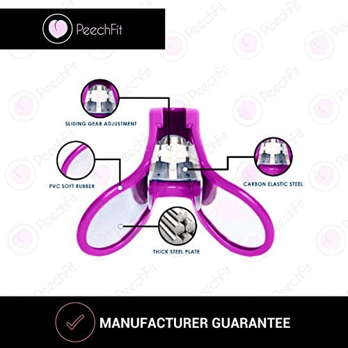 PeechFit Glute and Hip Trainer - Buttocks Lifting Super Kegel Exerciser - Booty Builder Machine and Pelvic Floor Strengthening Device Women - Perfect at Home Bigger Butt Workout Equipment