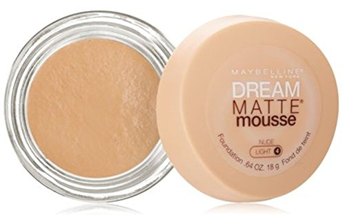 Maybelline Dream Matte Mousse Foundation - Nude (Light 4)