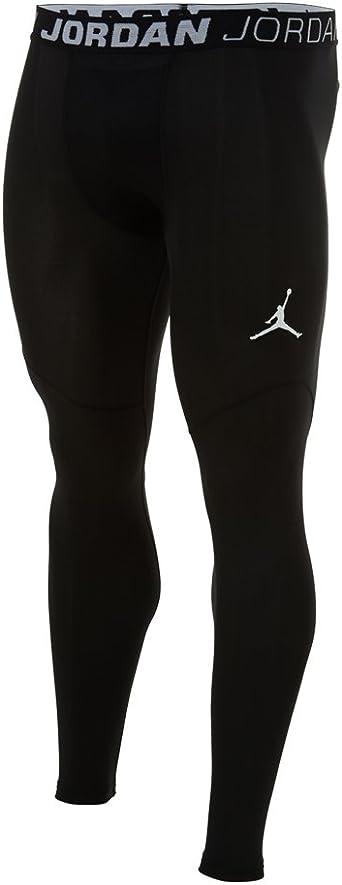 Air Jordan Dominate Mallas De Compresion Pantalones Negro 622181 011 Negro Amazon Es Deportes Y Aire Libre