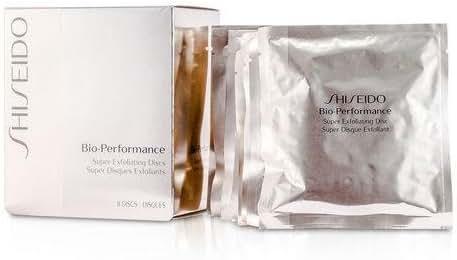 Shiseido Other 8Discs Bio Performance Exfoliating Discs For Women