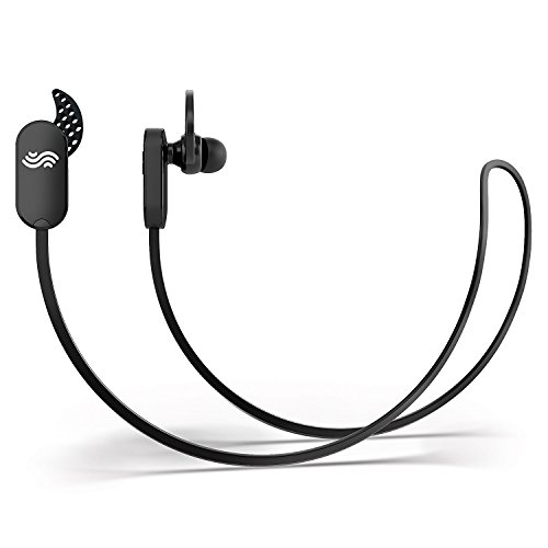 Audiopure Bluetooth Headphones: Wireless Sport Earbuds with Bluetooth V4.1, Noise Cancelling, Mic , Sweatproof, 7 hrs Play for Running, Gym & Exercise with Bonuses (Black)