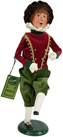 Byers Choice 10 Lords A-Leaping Caroler Figurine 740 from The 12 Days of Christmas Collection