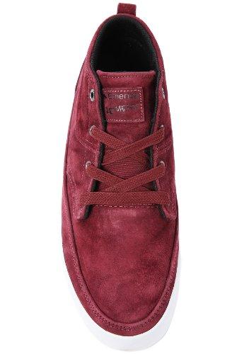 Emerica TROUBADOUR 6102000079 - Zapatillas de deporte de cuero para hombre rot/d