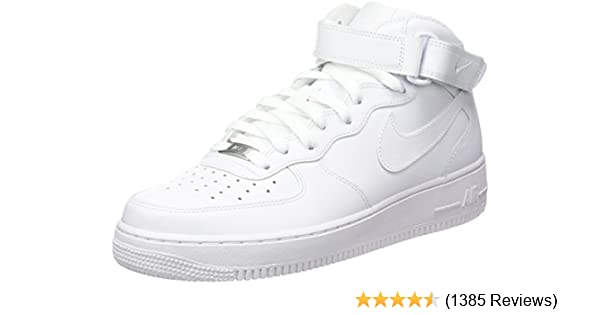 d44a5f9874a7 Nike Men s Air Force 1 Mid 07 Trainers