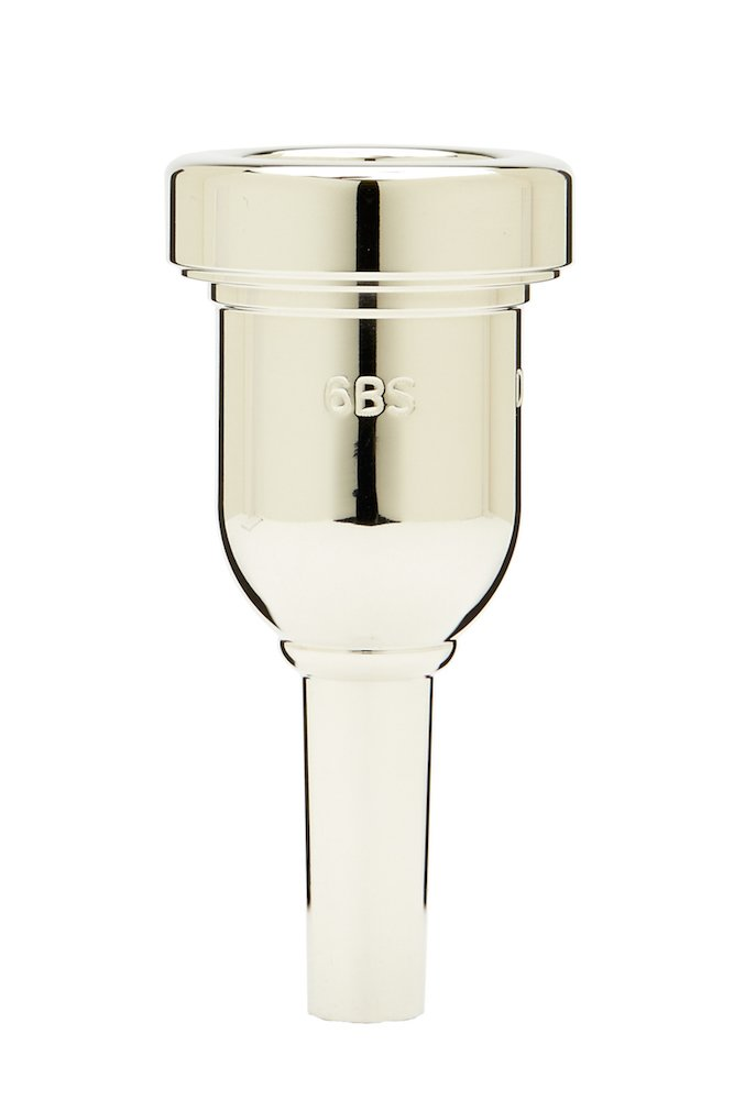 Denis Wick DW6880-6BS Heavytop Silver-Plated Trombone Mouthpiece