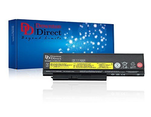 Downton Direct Laptop Battery for LENOVO 42Y4874 42T4901 42T4902 42Y4940 29+, LENOVO THINKPAD X220 X220i X220s Series. [11.1V 4400mAh, 1 Year Warranty]