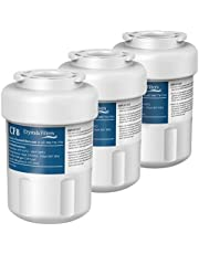 GE MWF Water Filter Replacement for GE MWF, Smartwater, MWFA, FMG-1, Kenmore 9991, 46-9991 Refrigerator Water Filter by Crystala Filters(3 Pack)