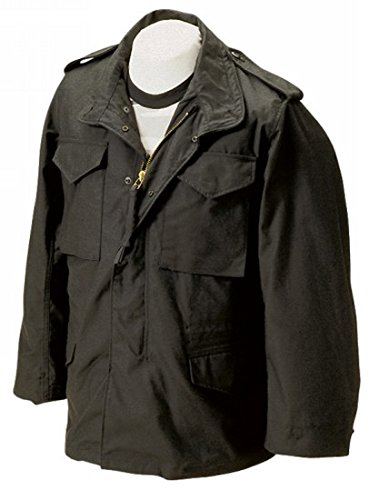 (Tru-Spec Men's M-65 Field Jacket with Liner, Large Long, Olive Drab)