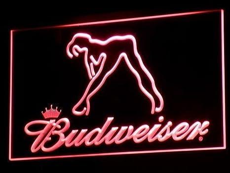 Exotic Dancer Stripper Single Mom Bar Dual Color Led Neon Sign st6-st6-i3130