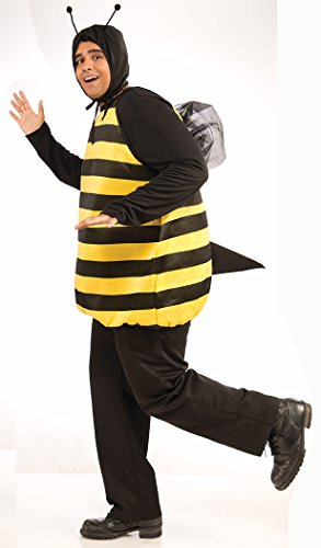 Forum Novelties Women's Plus-Size Bumble Bee Plus Size Costume, Black/Yellow, Plus - Men Plus Size Costumes