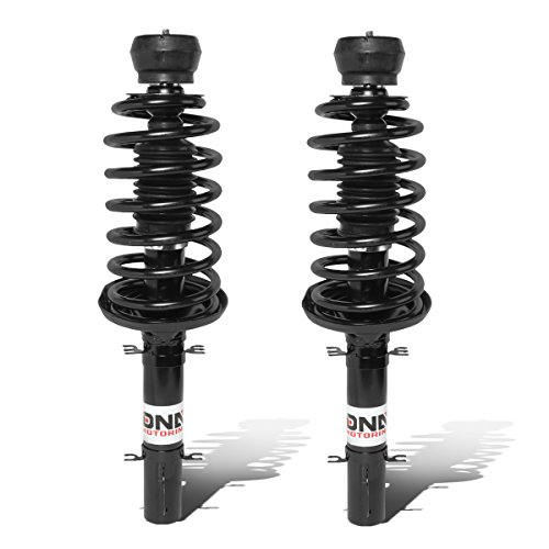 DNA Motoring SHO-OE-00066-FLR Pair Front Assembled Shock+Spring [For 99-05 Volkswagen Jetta]