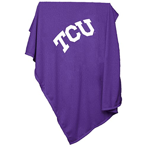 NCAA TCU Horned Frogs Sweatshirt Blanket