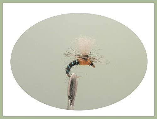 12 KLINKHAMMERS Dry Trout /& Grayling Fly Fishing Flies Dragonflies