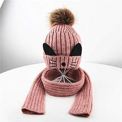 6057488221c5 YAOHM Baby Girls Boys Warm Soft Knit Bear Hat Toddler Winter Crochet ...