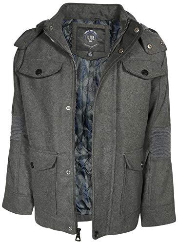 92962d2f2 Urban Republic Boys Wool Officer Jacket Hood | Weshop Vietnam