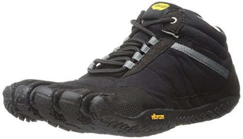 Vibram FiveFingers Herren Trek Ascent Insulated Outdoor Fitnessschuhe, Schwarz (Black), 43 EU