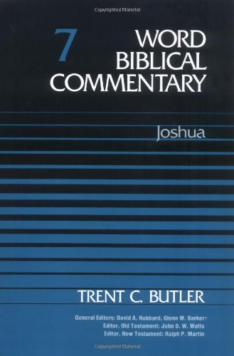 Word Biblical Commentary Vol. 7, Joshua  (butler), 350pp