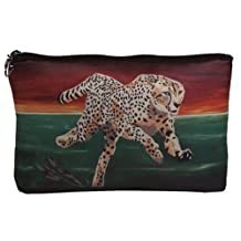 Cosmetic Bag, Zipper Pouch - Zip-top Closer - Taken From My Original Paintings - Animals