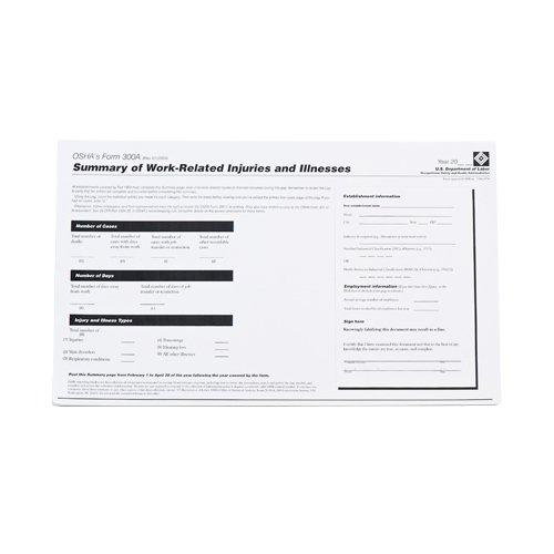 Osha Form 300a - Forms, OSHA 300A Log