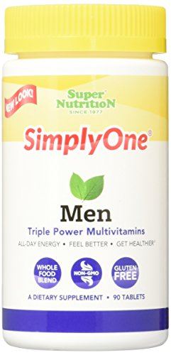 SuperNutrition Simply Multivitamin Tablet Count