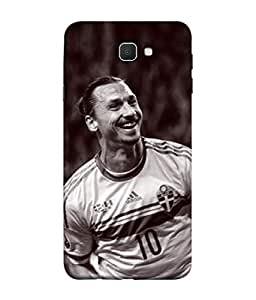 ColorKing Football Ibrahimovic Sweden 03 Multi Color shell case cover for Samsung Galaxy J7 Prime