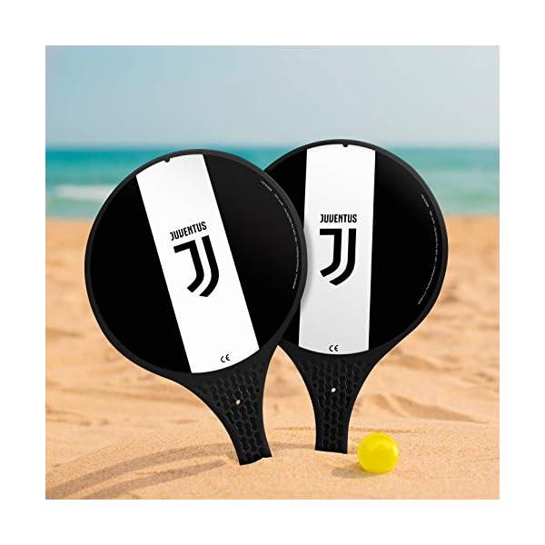 Mondo Toys- 2 Racchette in plastica -Pallina di Gomma-Gioco da Spiaggia per Bambini e Adulti-Prodotto Ufficiale F.C… 3 spesavip
