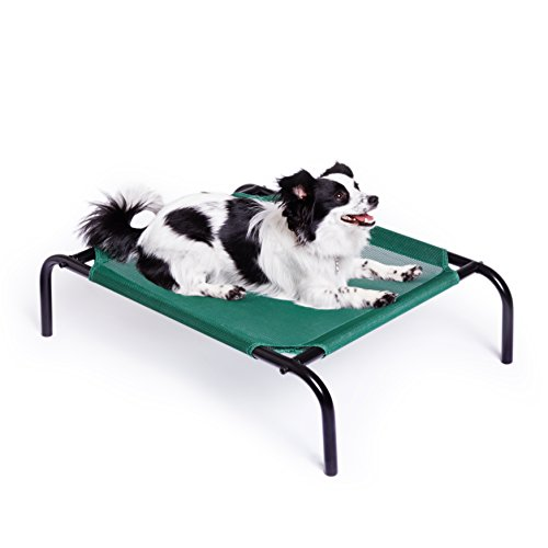 AmazonBasics-Elevated-Cooling-Pet-Bed