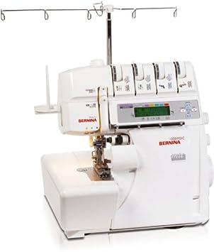 Bernina 1300MDC - Máquina de coser (Máquina de coser semiautomática, Plata, Blanco, Overlock, Costura, LCD, Botones, palanca, 1300 RPM): Amazon.es: Hogar