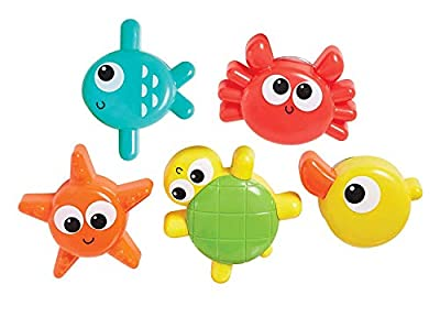 Kidoozie Spin 'n Play Sea Friends Bathtub Toys