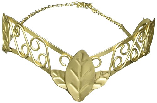 Amscan Gracious God and Goddess Tiara (1 Piece), Gold, One (Greek Gods And Goddesses Costumes For Men)