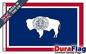 Durable aflag® Wyoming Super Calidad Bandera