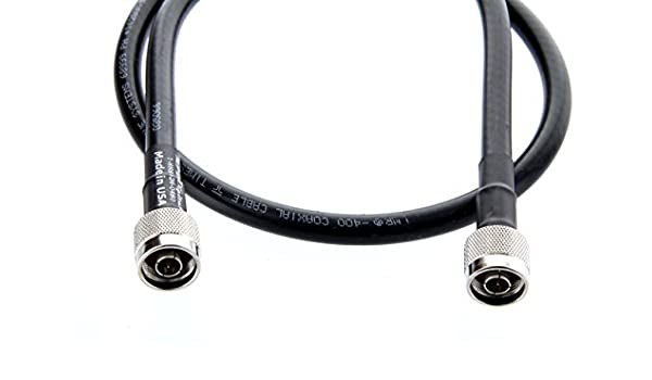 Veces microondas lmr400-n-male-to-n-male-10 RF Cable Veces ...
