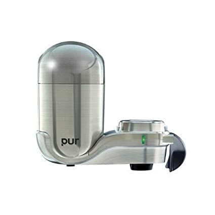 Amazon.com: PUR Advanced Plus Faucet Water Filter - Stainless Steel ...
