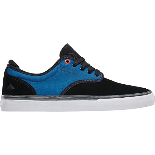 Emerica Mens Wino G6 X Deathwish Shoes Black/Blue w2s3wlaR