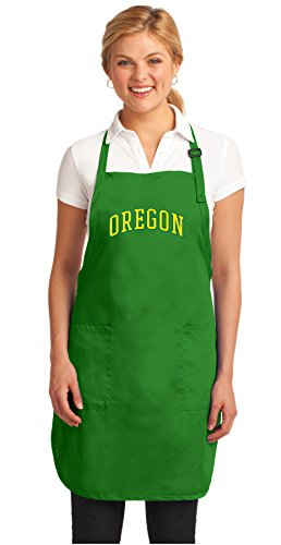 Broad Bay University of Oregon Apron Deluxe UO Aprons Made in The USA! ()