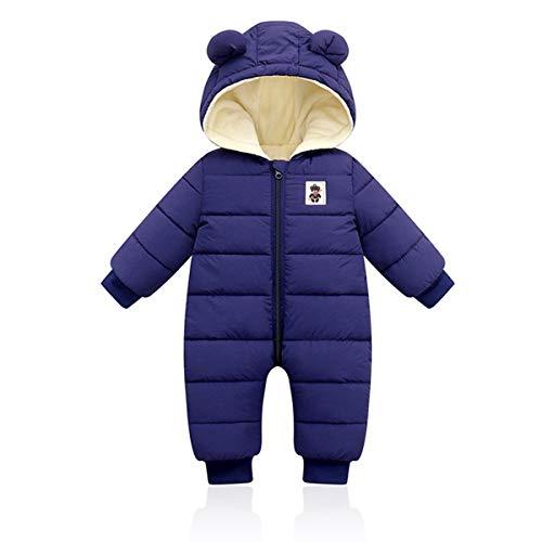 Baby Hooded Winter Romper, Jongens Meisjes Donsjack Warm Snowsuit Jas Kids Warmer Bodysuits Outfits Lange mouw Jumpsuit…