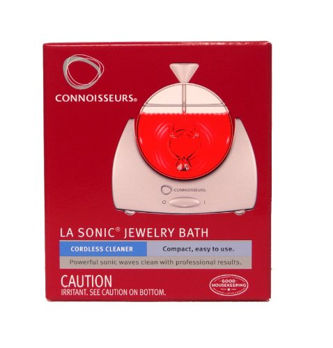 (CONNOISSEURS Sonic Bath Jewelry Cleaner Appliance)