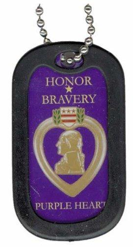 (Purple Heart Dog Tag)