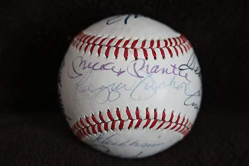 Mickey Mantle Autographed Signed Ted Williams Joe Dimaggio 11 More Superstars JSA Certified Memorabilia - Certified Memorabilia MLB Signature