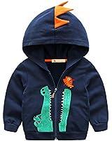 Baby Boys Long Sleeve Dinosaur Hoodies Kids...