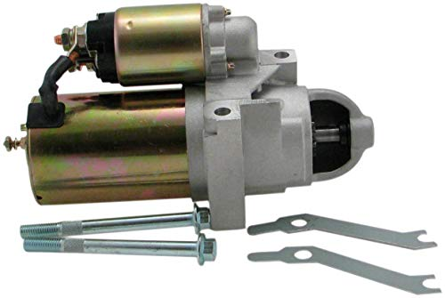 Sbc Street Rod - Torque Mini Starter for SBC BBC 1.7KW! 350 Chevy Street Rod Race Car Hot Rod Includes Mounting Hardware 3HP 168 Tooth Flywheel Staggered Mount Gear Reduction 10 lbs! Small Big Block