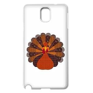 Samsung Galaxy Note 3 Case, Thanksgiving Turkey Art Case for Samsung Galaxy Note 3 White lmn317564640