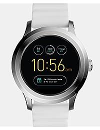 Q Founder Gen 2 White Silicone Touchscreen Smartwatch FTW2115