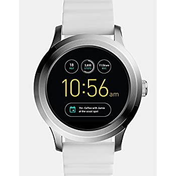 622c887fcfae Fossil Q Founder Gen 2 White Silicone Touchscreen Smartwatch FTW2115