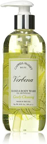 Caswell-Massey Verbena Liquid Hand Soap - Verbena Hand and Body Wash With A Fresh Citrus Scent, 10 Ounce