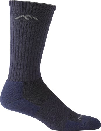 (Darn Tough Standard Issue Mid Calf Light Sock,  Navy,  Medium)